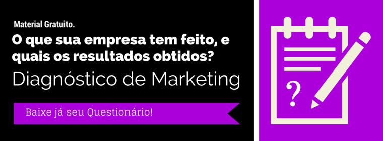 Questionário de Análise e Diagnóstico de Marketing Digital