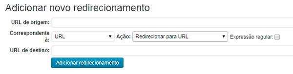 Redirecionamento no WordPress