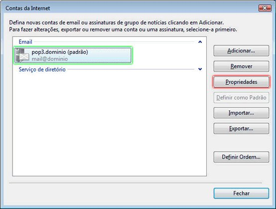 Configurando Windows Mail - Etapa 9