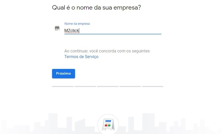 Nome da Empresa - Google Meu Negócio