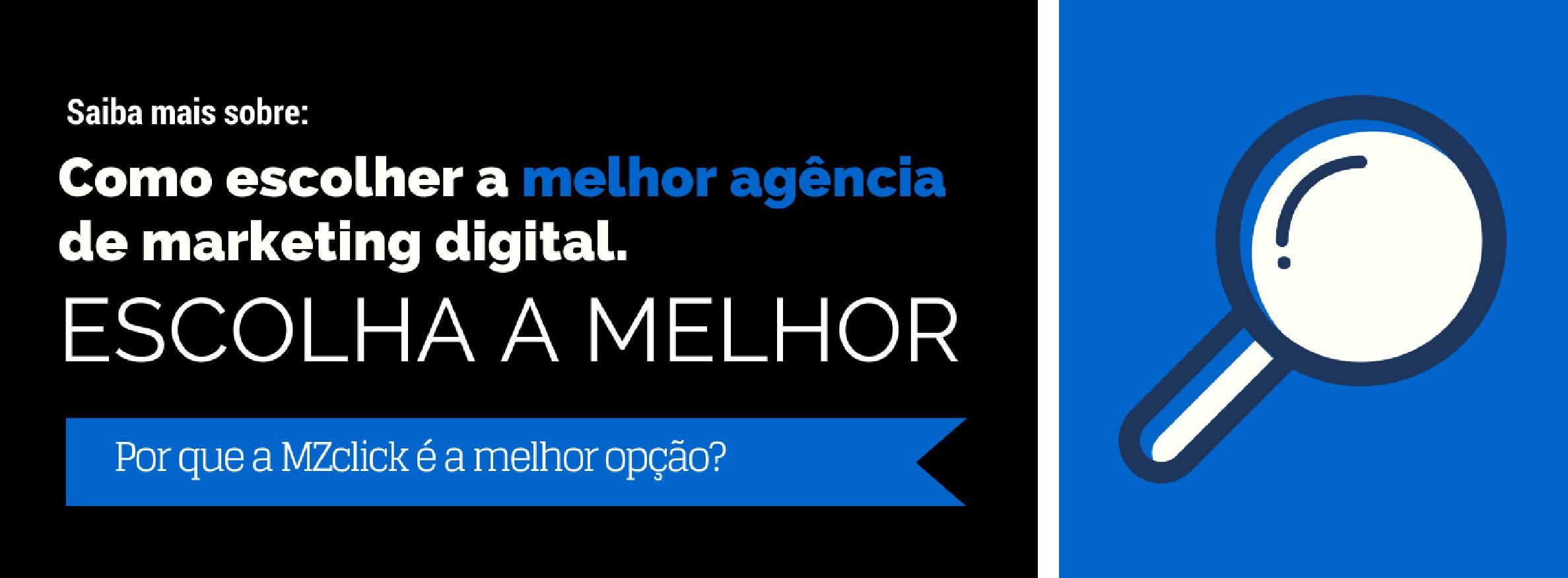 CTA - Escolha a melhor agência de marketing digital