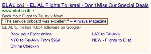 Extensões de Comentários Google Adwords