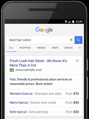 Extensões de Preço - Google Adwords