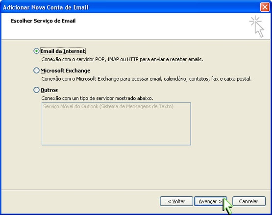 Configurando Outlook 2007 - Etapa 4