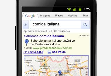Publicidade para celular - Mobile