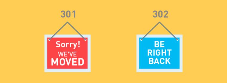 Redirecionamento 301 e 302: entenda as diferenças.