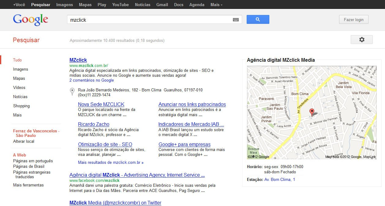 SERP - Search Engine Results Page