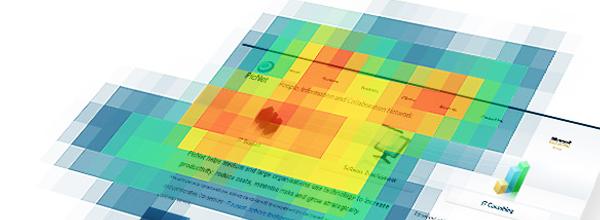 Usabilidade com Heatmaps